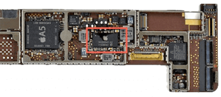 замена контроллера питания на ipad 1